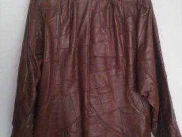 Kožna jakna (ženska, 100% koža, XL)