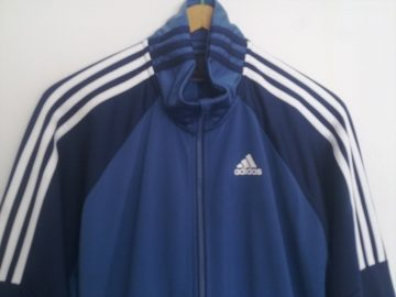 Adidas trenerka (muška, 100% poliester, XL)