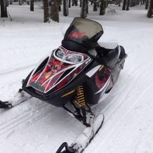 Motorne sanke za sneg SKI DOO MXZ 600cc 110ks